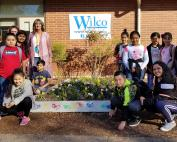 Scott Elementary Partners with Wilco Farm Store for Annual School Beautification Project October 2018